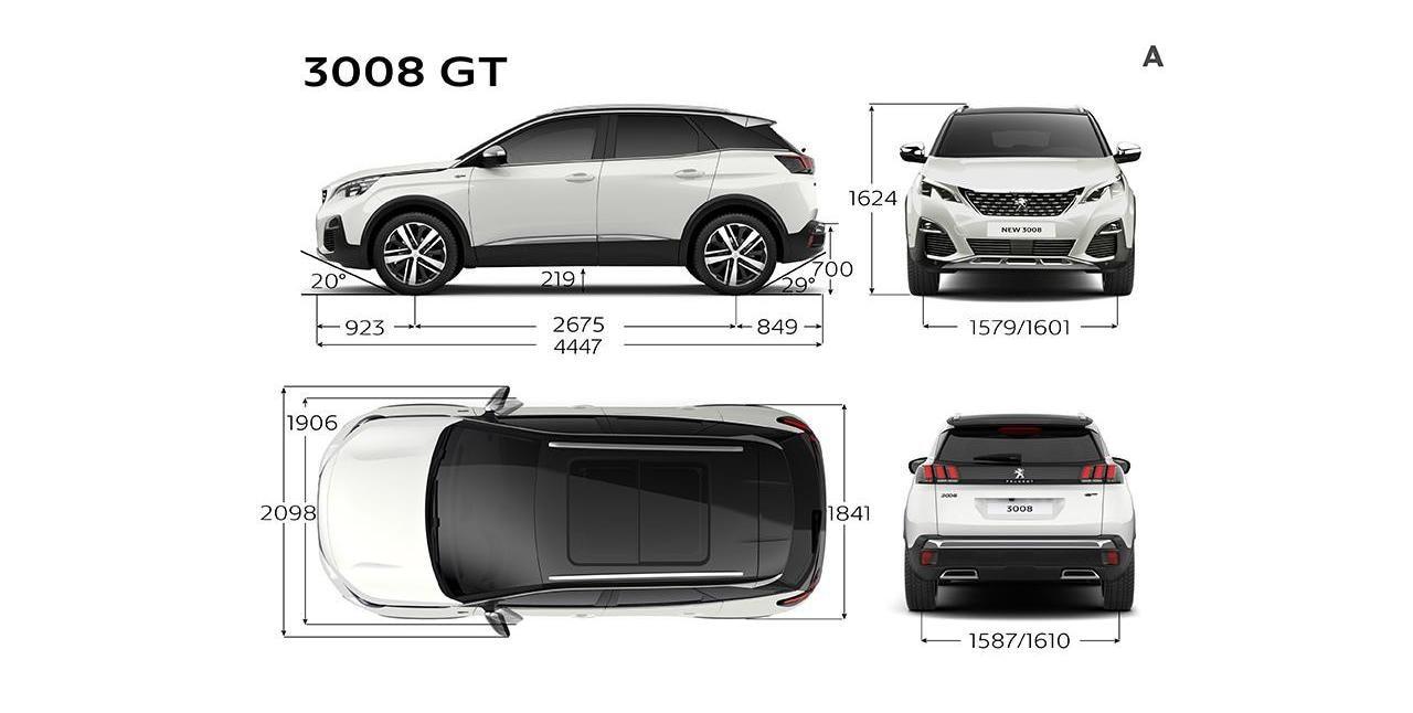Peugeot-3008GT-DIMENSÕES-Comprimento