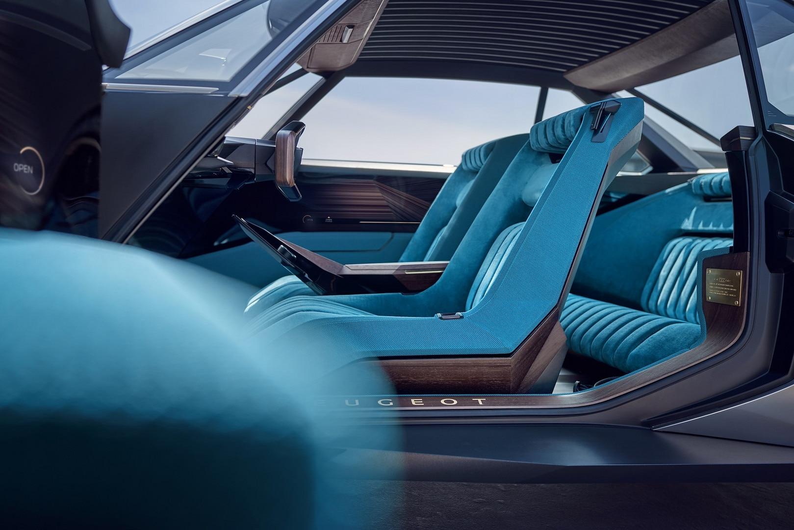 Peugeot E Legend Concept Fotos E Videos