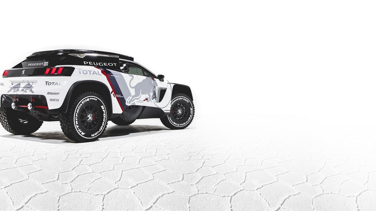 novo peugeot 3008 dkr a m quina de combate da peugeot para a prova do dakar. Black Bedroom Furniture Sets. Home Design Ideas