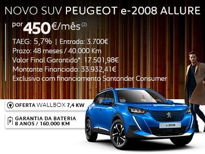 NOVO SUV PEUGEOT e-2008